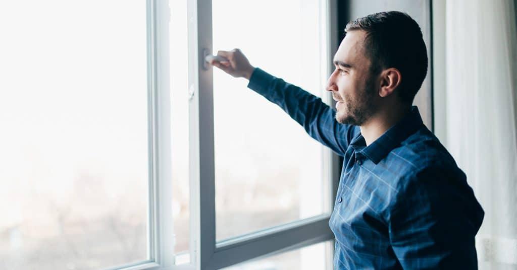 otváranie okien