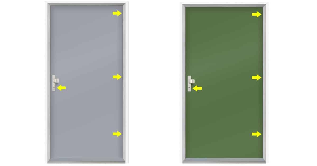 bezpecnostne dvere metrol